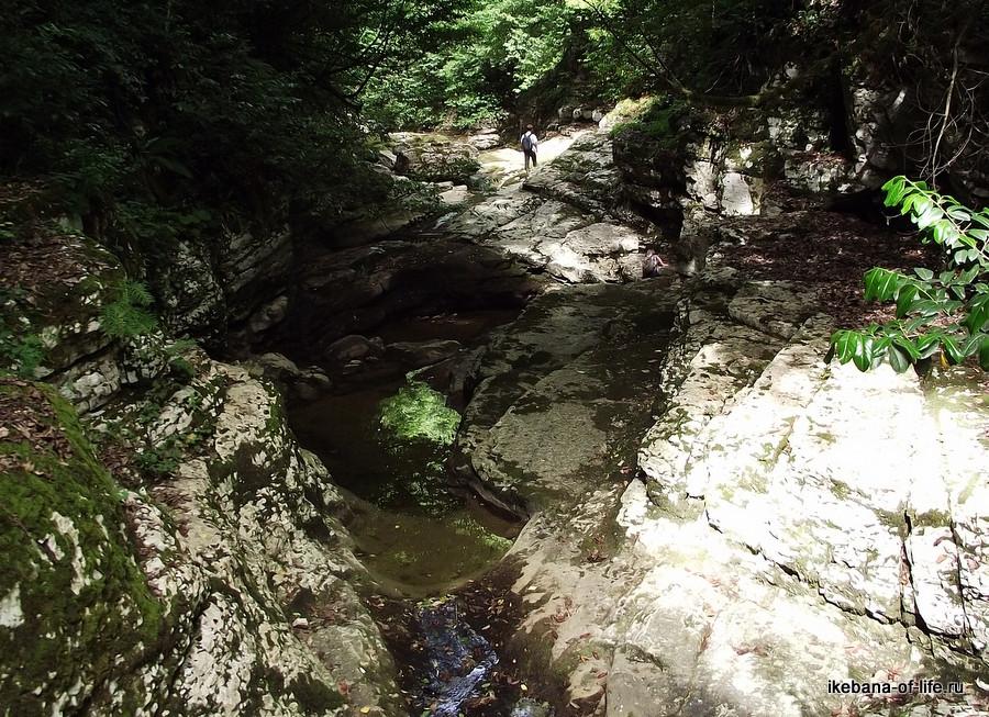 каньон на реке Агуре