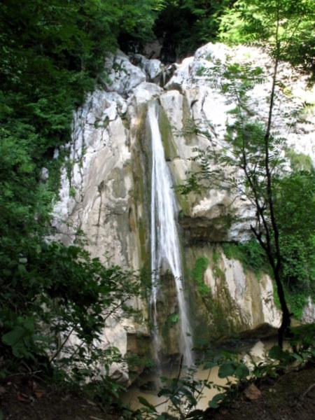 Верхний водопад Агуры