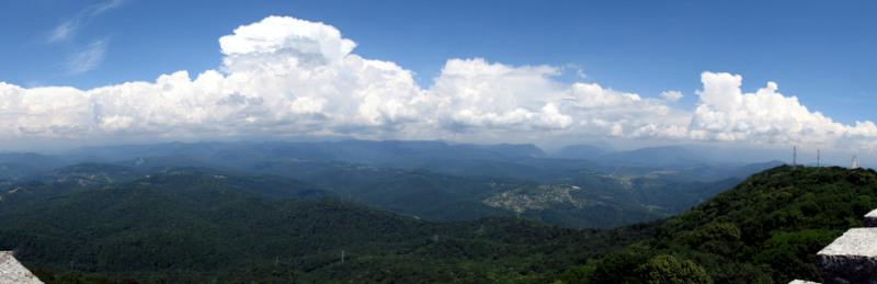 Панорама 180 на горы