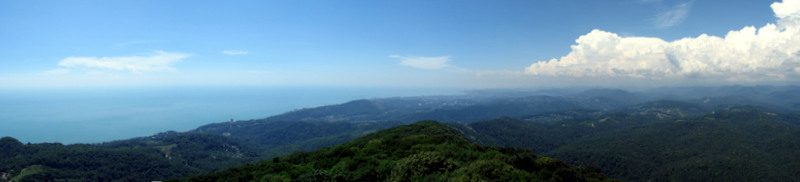 Панорама на Сочи