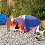 Палатка, скала Киселёва