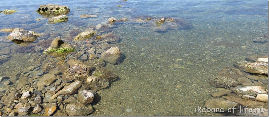 как купаться среди камней