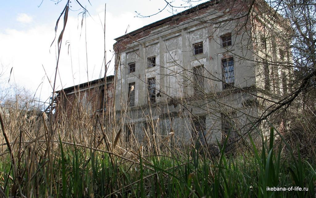 Заброшенная ГЭС в станице Советская