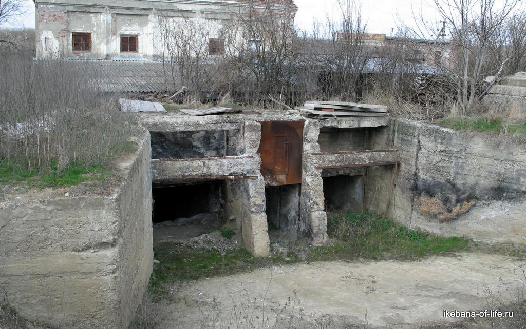Заброшенная ГЭС рядом со станицей Советская