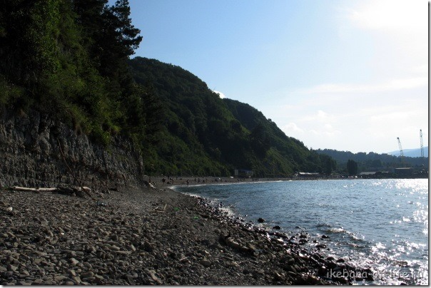 Пляж Паук