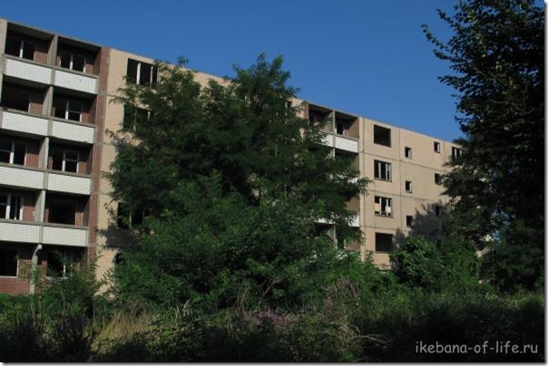 недостроеная многоэтажка, Кадош