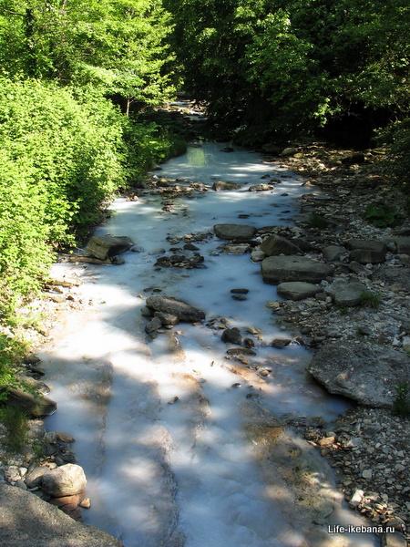 Агура, сероводородная вода