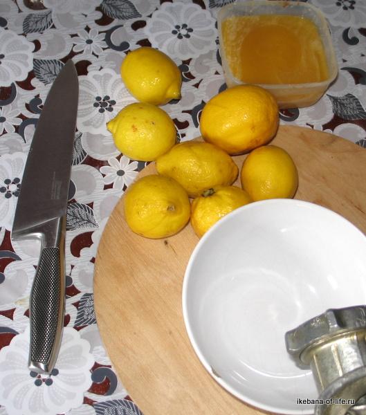лимонад с мёдом
