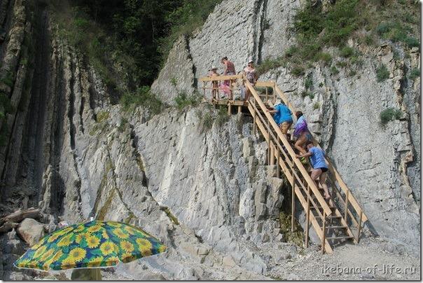 подъем на скалу Киселёва