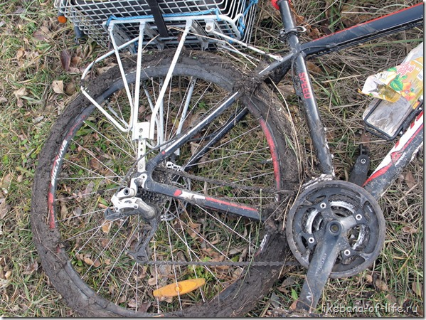 Велосипед гряземес